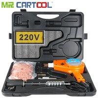 Mr Cartool 220V Auto Stud Dent Welder Kit 900VA Stud Welder Kit Car Boby Dent Puller with Muti Hook Weld Meson Pads