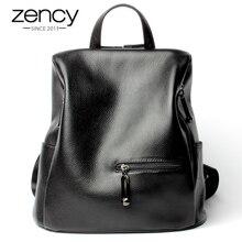 Мода 2017 г. 100% Пояса из натуральной кожи черный Для женщин рюкзак Обувь для девочек школьный книга дамы Сумки ноутбук Bagpack Чемодан Mochilas Mujer