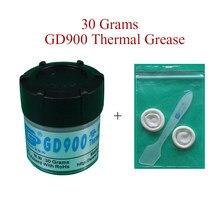 Теплопроводящая паста GD900 для процессора, 30 г