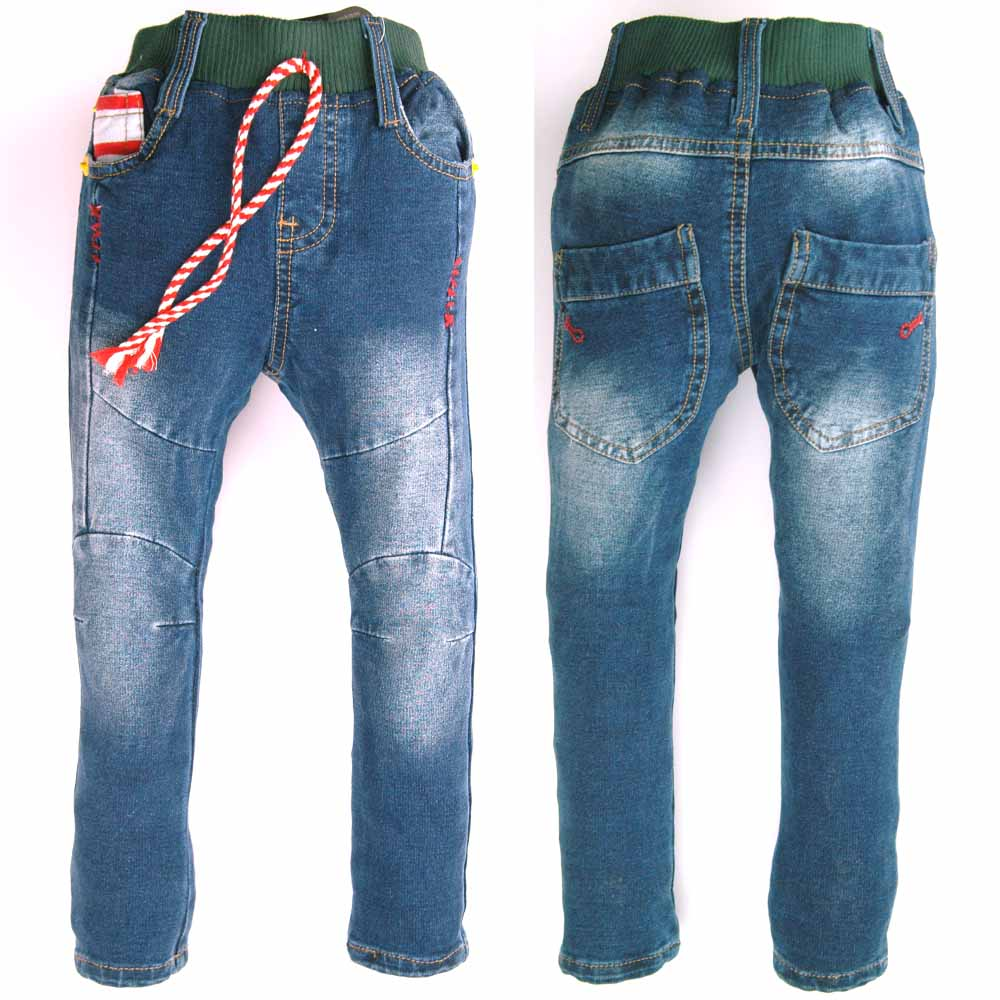Bottom band skinny jeans