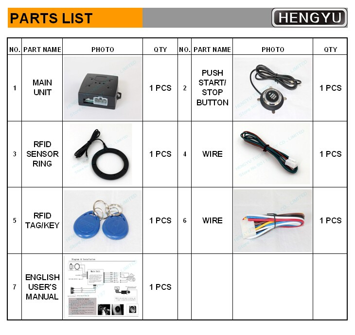 Кнопка старта двигателя автомобиля/RFID замок двигателя FS-55 стартер зажигания/бесключевая остановка старта двигателя, кнопка старта