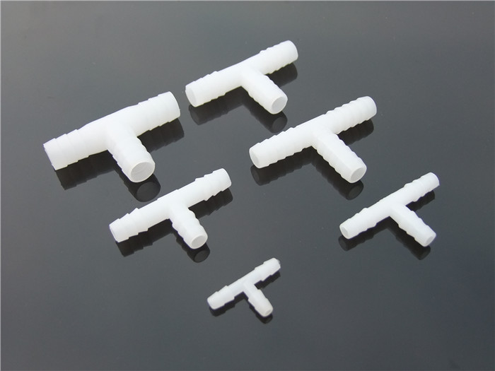 3pcs 4-11mm Plastic Water Air Tee Pipe Three Way Pipe T-branch Pipe Free Shipping Russia