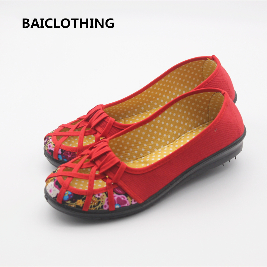 BAICLOTHING women mesh breathable flat shoes female spring and summer shoes lady cute soft comfortable flats zapatos de mujer