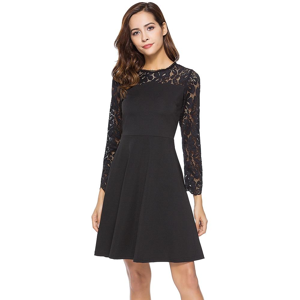 Black Long Semi Formal Dresses
