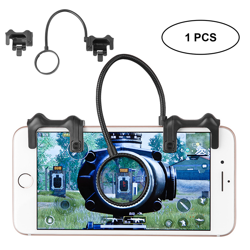 Upgrade Version Mobile Game Controller Sensitive Shoot and Aim Keys L1R1 Shooter Controller for PUBG for Rules of survival