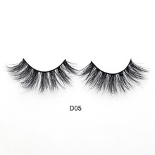 Visofree Eyelashes 3D Mink Lashes Luxury Hand Made Mink Eyelashes Medium Volume Cruelty Free Mink False Eyelashes Upper Lashes