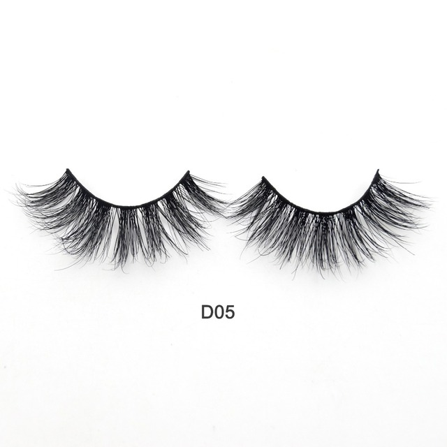 Visofree Eyelashes 3D Mink Lashes Luxury Hand Made Mink Eyelashes Medium Volume Cruelty Free Mink False Eyelashes Upper Lashes 2