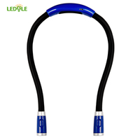 LEDGLE New Flexible Adjustable High Quality LED Handsfree Reading Book Night Neck Hug Light Lamp