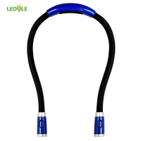 LEDGLE New Flexible Adjustable High Quality LED Handsfree Reading Book Night Neck Hug Light Lamp