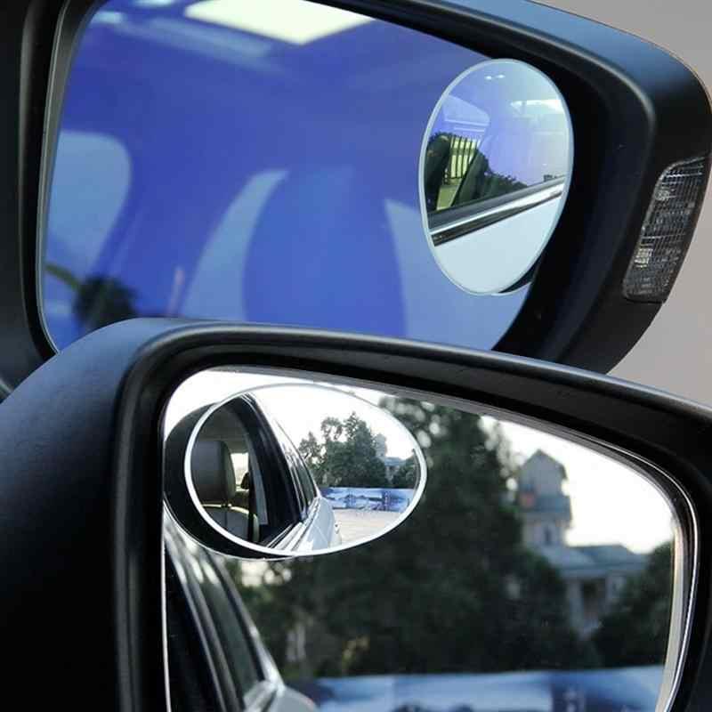 Зеркала мертвой зоны бескаркасные 360 градусов Поворот Sway Adjustabe стекло высокой четкости выпуклый широкоугольный заднего вида Автомобильная липучка на объектив