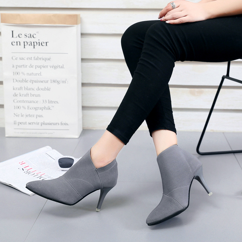 Pointed Toe High Heels Women Pumps Shoes Basic Spring Casual Ladies Shoes Women Heels Female Fashion Footwear Pumps Shoes ADT609 zjvi woman pointed toe thick high heels pumps 2018 women spring autumn lace up shoes ladies women s female nubuck casual pump