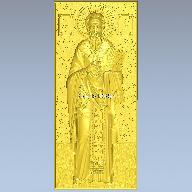 High quality 3d model relief  for cnc or 3D printers in STL file ikona_0128_Simeon martyrs faith hope and love and their mother sophia 3d model relief figure stl format religion for cnc in stl file format