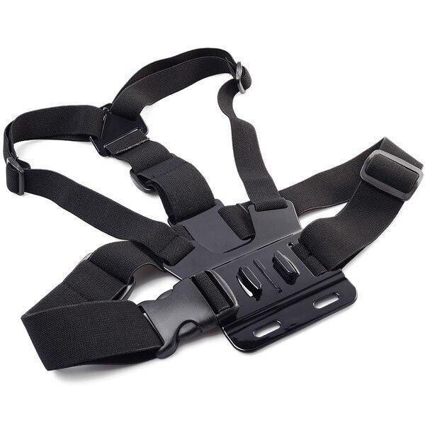 Gopro accessoires réglable Chest mont harnais ceinture pectorale pour GoPro HD Hero 4 3 + 3 1 2 SJ4000 SJ5000 Sport caméra