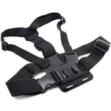 GoPro Accessories Adjustable Chest Mount Harness Chest Strap Belt for GoPro HD Hero 4 3+ 3 1 2 SJ4000 SJ5000 Sport Camera