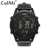 Além de ColMi Smartwatch 50 Metro 2 anos de Espera horas Esporte À Prova D' Água de Monitoramento Para Android iOS Brim Das Mulheres Dos Homens Relógio Inteligente