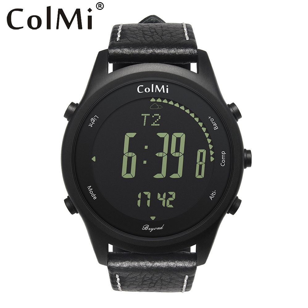 ColMi Au-delà Smartwatch 50 Mètre Étanche Veille 2 ans heures Sport Surveillance Pour Android iOS Bord Hommes Femmes Montre Smart Watch