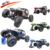 Carro RC 2.4G RC Rock Crawler Extrema Veículo de Controle de Rádio 1/10 Oversize 4 Wheel Drive RTR Monster Truck com Luz LED Brilhante