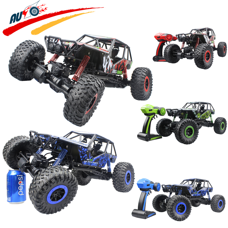 Rc Car 2 4g Rc Rock Crawler Extreme Vehicle Radio Control 1 10