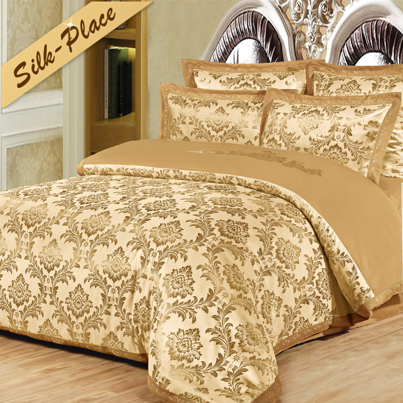 SILK PLACE 2018 Hot Sell Cotton Family Style Bedding Set