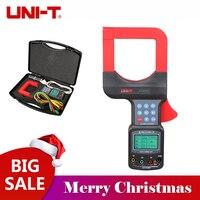 UNI T UT253A Авто Диапазон ЖК дисплей Дисплей диаметральные токовые клещи ток утечки метр UT253A w/RS232 удержания данных