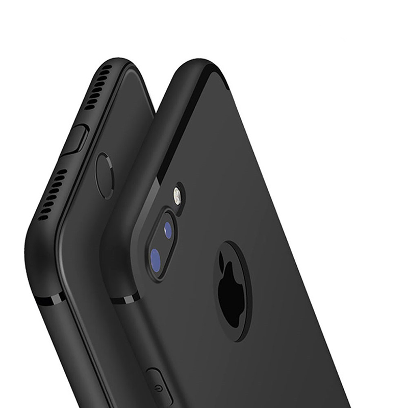 low priced a945f d6efb US $0.99 20% OFF|New Luxury Slim Silicon Capa For iPhone XS Max Case XR 5  5S SE Cover Black Soft Matte TPU Phone Case for iPhone 7 8 6 6S Plus X-in  ...