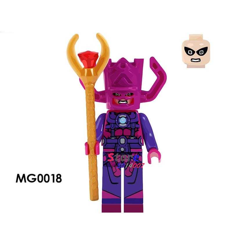 1 шт. Модель Строительный блок экшн Супергерои Галактус дом хобби Обучающие куклы diy игрушки для детей подарок