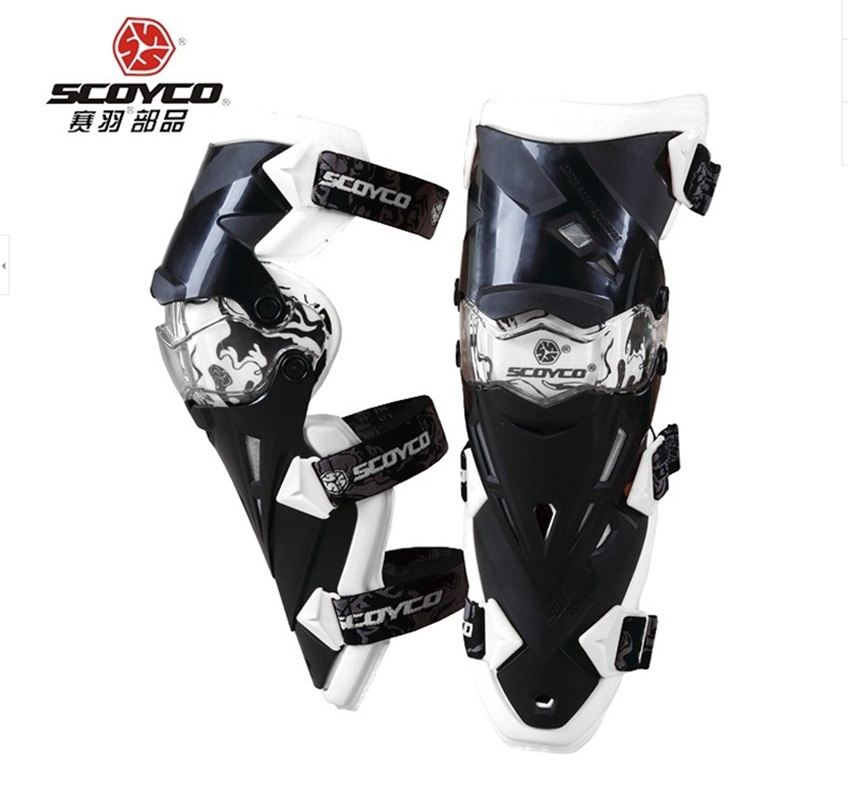Brand New Motorcycle Protective Gear Sport Knee Protector Motor Bike Knee Pad Cycling Parts Scoyco K12 scoyco k11h11 motorcycle sports knee elbow protector pad guard kit black