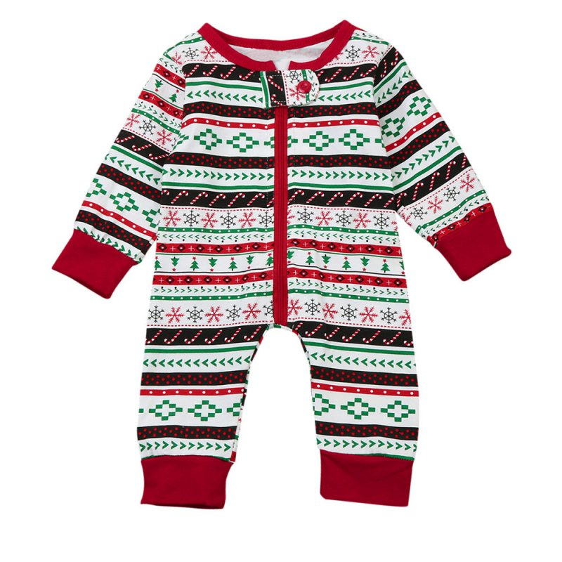 SummerBaby Boy Girl Suits Christmas Style Cotton Long Sleeves Stripes Jumpsuits Colorful Tops+Pants 2pcs Suits Newborn Clothes