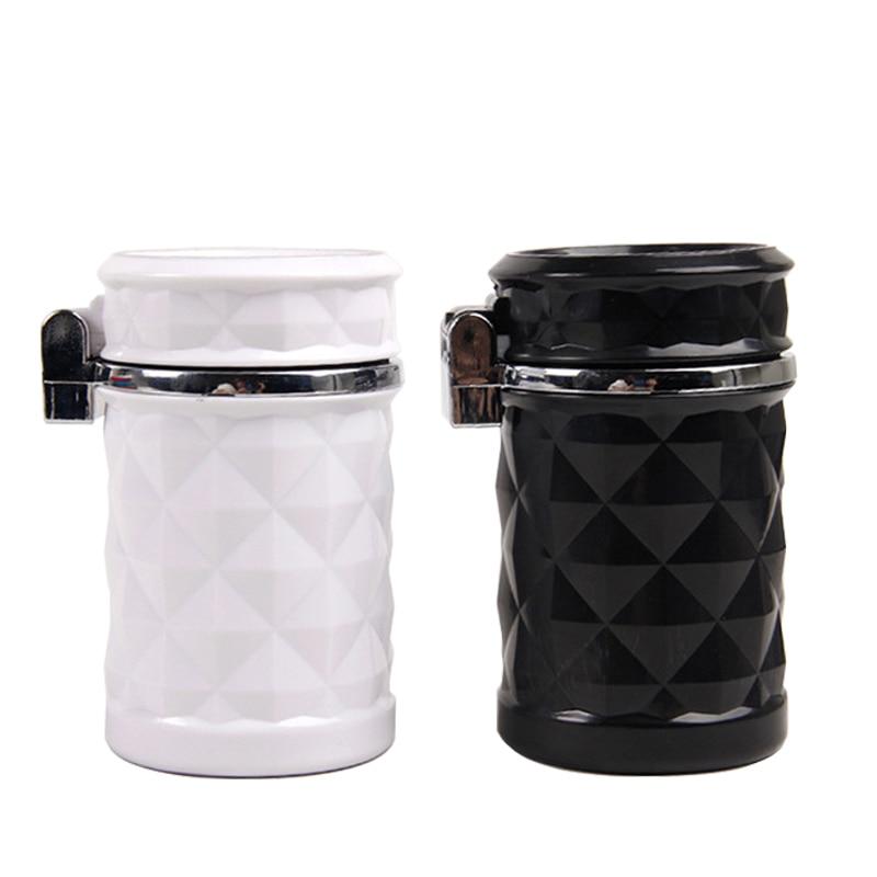 Toy Figures Car-Interior-Supplies Led-Light Action Mini Ashtray Cigarette-Cylinder-Holder