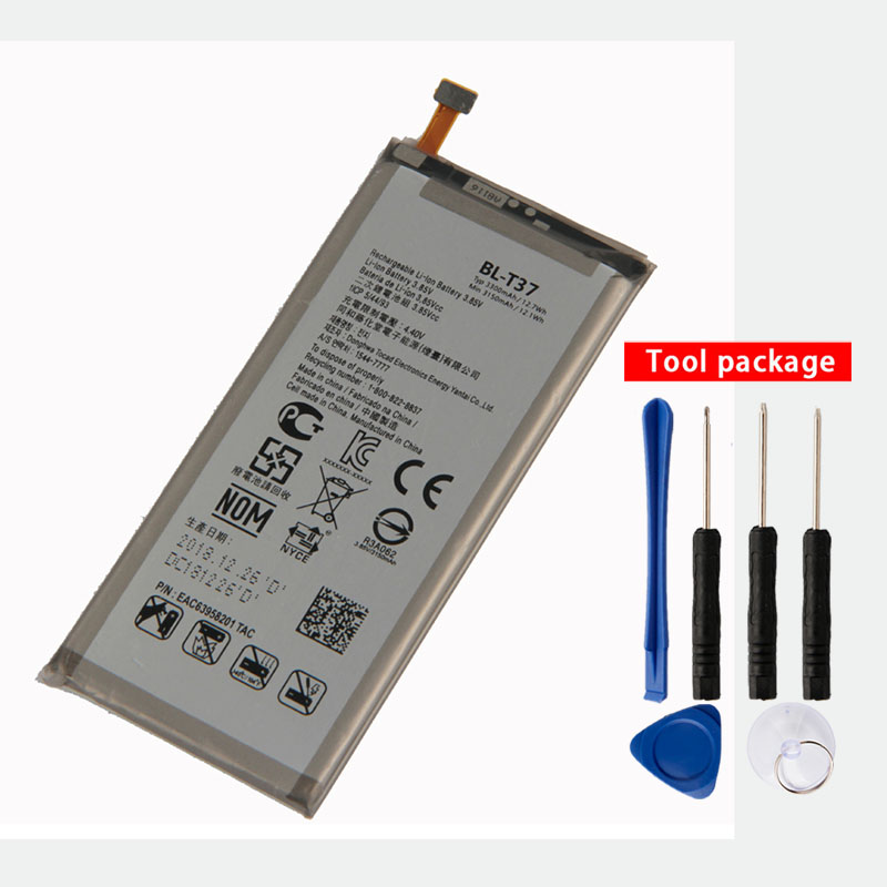 Original BL-T37 Phone <font><b>Battery</b></font> FOR <font><b>LG</b></font> Q Stylo <font><b>4</b></font> Q710 Q710MS Q710CS LM-Q710MS 3300mAh image