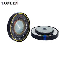 TONLEN 2PCS 40mm HIFI Headphone Speaker Horn DIY Stereo Wireless Bluetooth Headset 0.1W 16ohm Headphones Horns