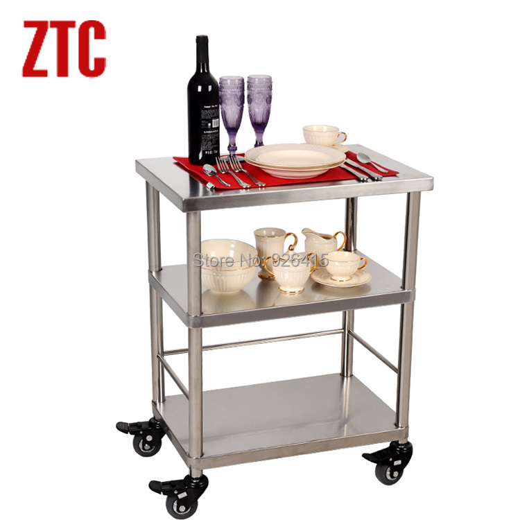 Elegant Hotel Drinks Service Trolley With Wheels,home Basics Kitchen Utility Cart  Trolley,small Microwave Cart,3 Shelf Housekeeping Cart In Hotel Trolley  From ...
