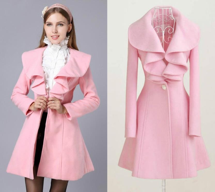 Popular Pink Female Coat-Buy Cheap Pink Female Coat lots from . - Womens Winter Coats Pink Down Coat