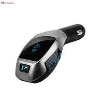 Naciągacze dysku flash USB AUX-IN karty TF Odtwarzacz MP3, bezprzewodowa Bluetooth hands free Nadajnik FM Radio Adapter z Wyświetlacz LED