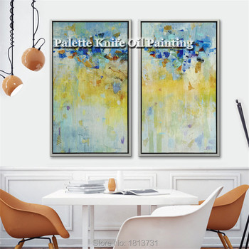 Hand painted Modern Abstract Canvas Oil Painting Wall Art decorative Pictures for living room Home Decor Handmade cuadros Art 13 фото