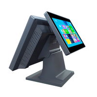 New 15 LCD touch monitor android pos , all in one pos system pc