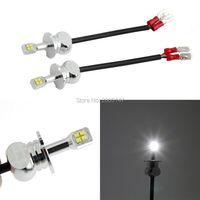 2Pcs Lot H3 LED High Power H3 Led Bulb Super Bright Headlight Car Vehicle LED White