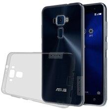 Case For Asus Zenfone 3 ZE552KL Cover For Asus Zenfone 3 ZE520KL NILLKIN Nature TPU Transparent Clear Case Soft Back Cove Case