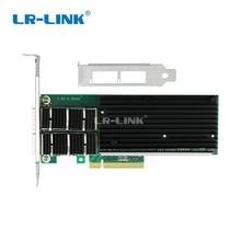 LR LINK 9902bf 2qsfp + 듀얼 포트 40 gb nic pci express 이더넷 서버 어댑터 광섬유 네트워크 카드 intel xl710qda2
