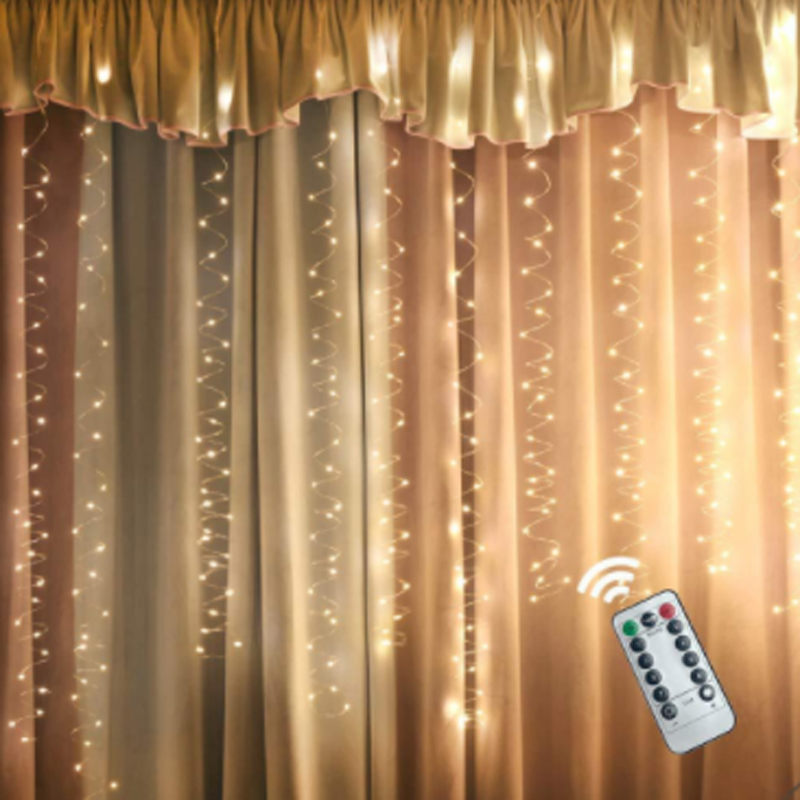 5V USB 3M 100 /200/ 300 LED Outdoor Holiday Christmas Decorative Wedding String Fairy Curtain Garlands Party Lights With Remote