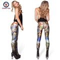 2016 women leggings hot sale Roman myth printing free size high elastic Lady leisure casual casual Leggings woman pencil pants