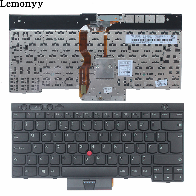 NEW UK keyboard FOR LENOVO THINKPAD T530 T530i T430 T430s X230 X230I W530 L430 L530 UK laptop keyboard black NO Backlight все цены