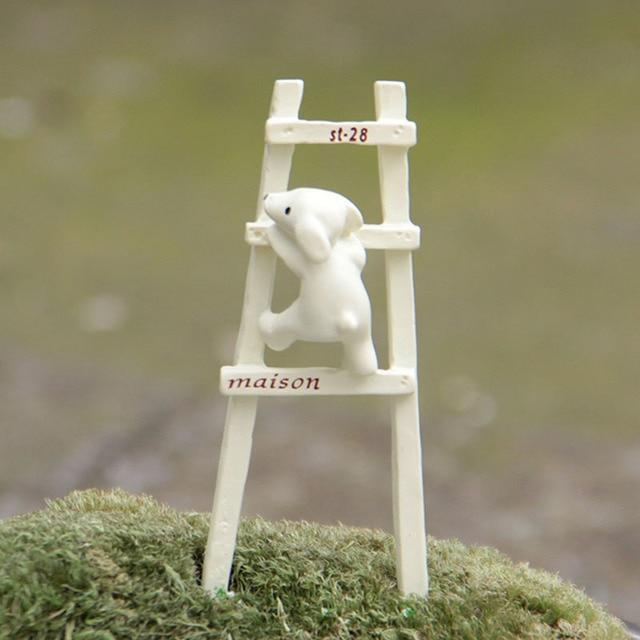 Chien Monter Les Escaliers Animal Miniature Fée Jardin Maison ...