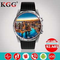 KW99 Smart Watch Phone MTK6580 3G WIFI GPS 3G SIM TF Watch Men Heart Rate Monitoring
