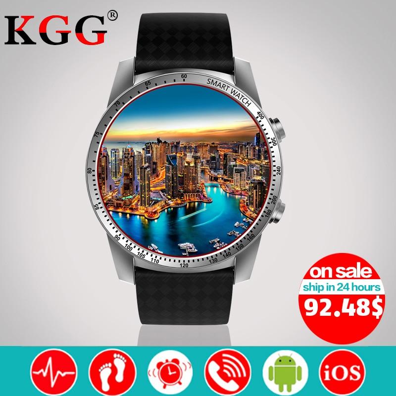 KW99 Smart Watch Phone MTK6580 3G WIFI GPS 3G SIM TF Watch Men Heart Rate Monitoring Bluetooth Smartwatch Android Phone PK KW88
