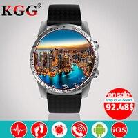 KW99 Smart Watch Phone MTK6580 3G WIFI GPS 3G SIM TF Watch Men Heart Rate Monitoring