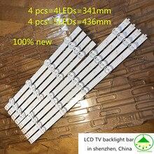 40 pçs/lote 100% nova barra de retroiluminação tv lcd para lg 39 polegada 39ln5100 39ln540v 39ln570v 39la620v 39la6200 hc390dun pola2.0 39 a b