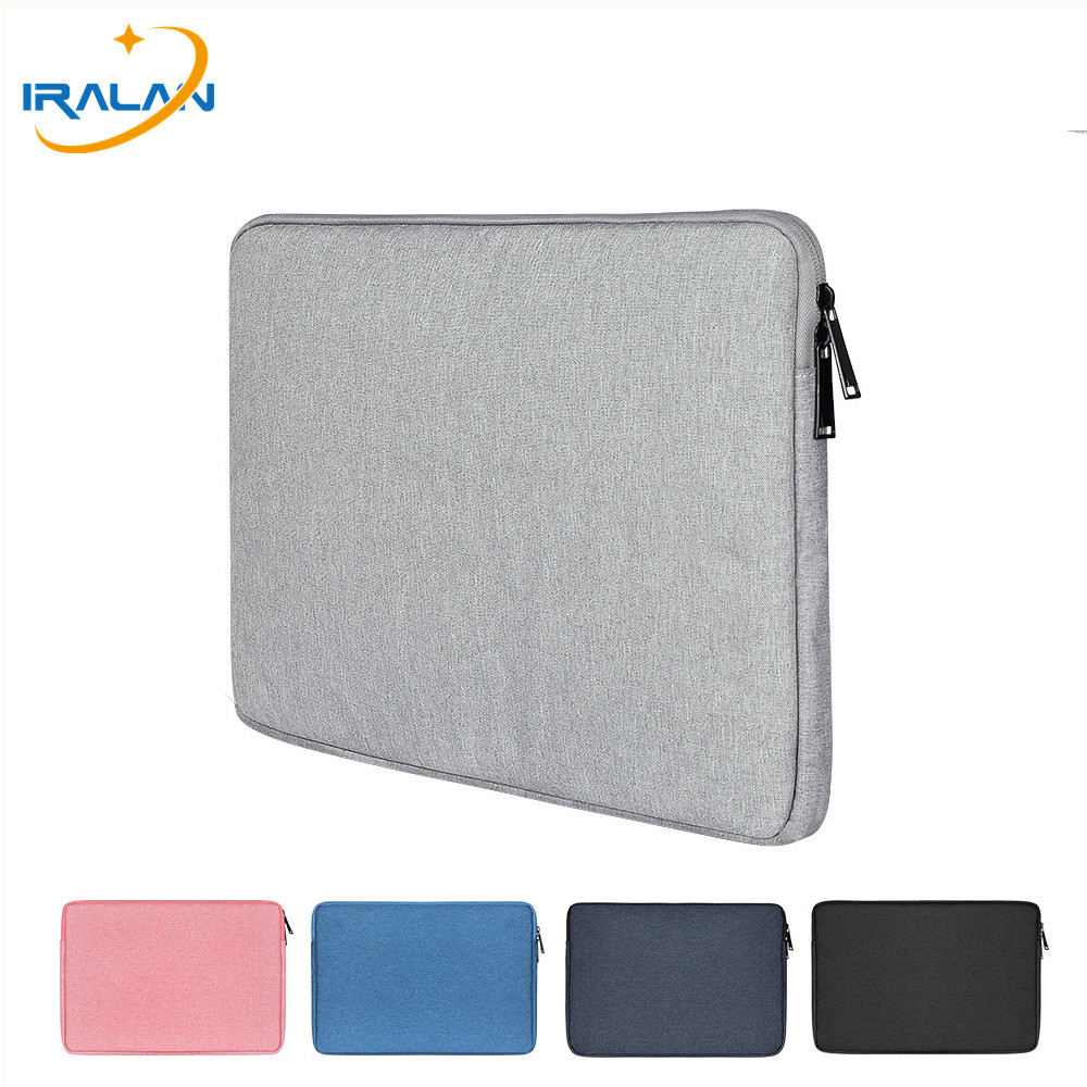 Zipper Sleeve Bag Waterproof Notebook Case For Macbook Air 11 12 13 15 15.6 Inch Cover Retina Pro 13.3 For Lenovo 14 Laptop Bags