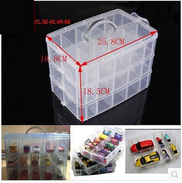 Attrayant 2015 Sale Special Offer Plastic Box Acrylic Makeup Organizer Cofre  Multi Storey Car Park Toy