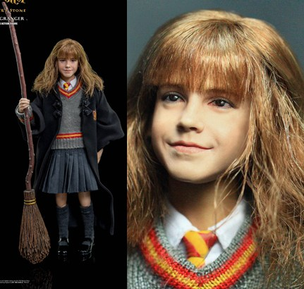 1/6 scale Figure doll Harry Potter and the Philosopher's Stone Hermione Granger.12 action figures doll.Collectible figure toy rowling j harry potter and the philosopher s stone ravenclaw editionhardcover